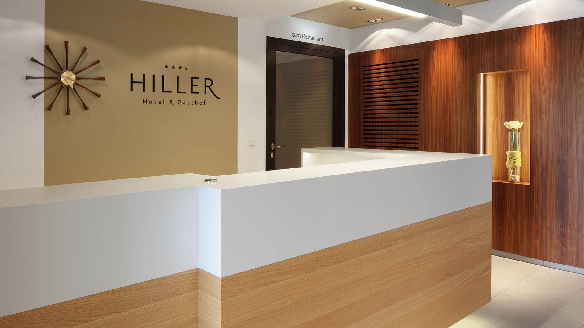 Lobby – Hotel Hiller in Abstatt